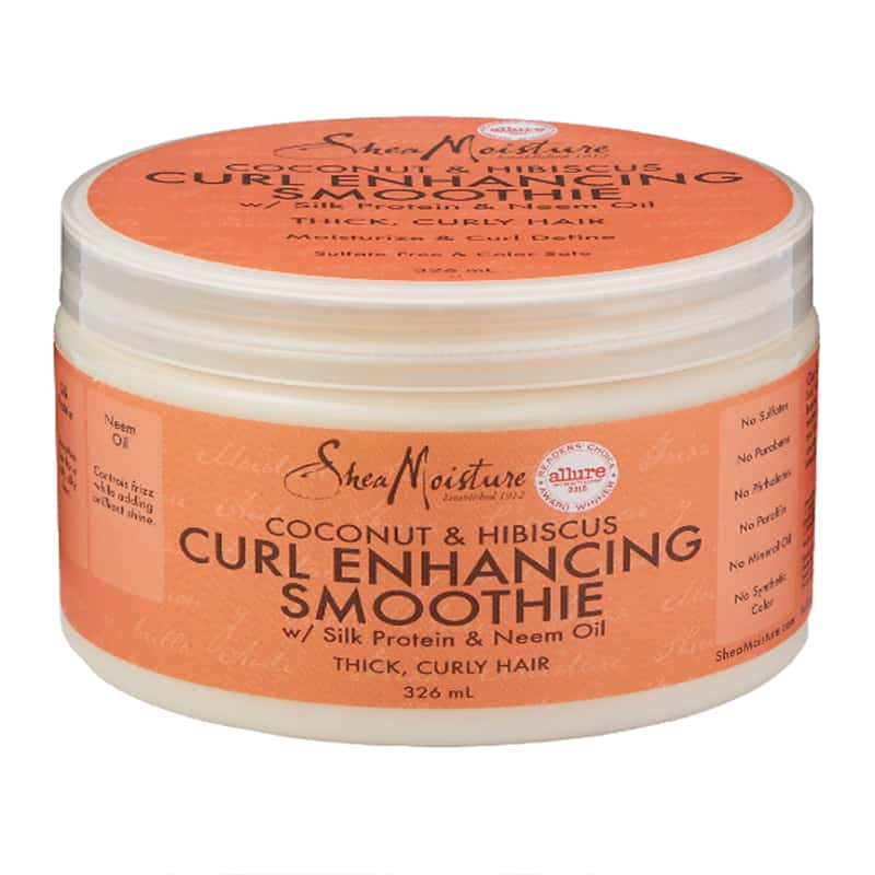 SHEA MOISTURE – COCONUT HIBISCUS – CURL ENHANCING SMOOTHIE