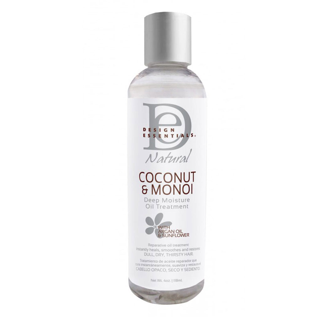 DESIGN ESSENTIALS COCONUT & MONOÏ – DEEP MOISTURE OIL TREATMENT