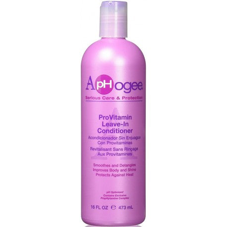 APHOGEE – PROVITAMIN LEAVE-IN CONDITIONER – 473ML
