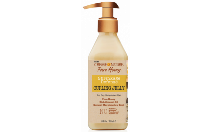 CREME OF NATURE PURE HONEY SHRINKAGE DEFENSE CURLING JELLY 355ML