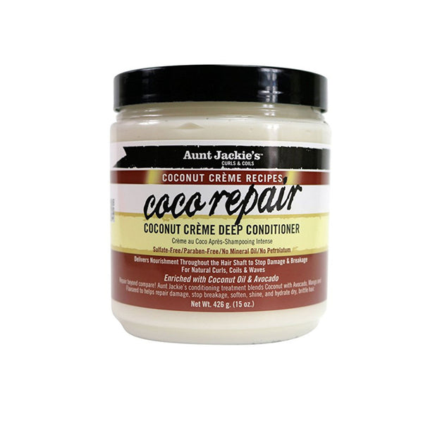 AUNT JACKIE'S – COCO – COCO REPAIR DEEP CONDITIONER (MASQUE)