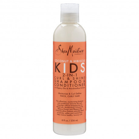SHEA MOISTURE KIDS - CURL & SHINE - SHAMPOOING ET CONDITIONER (2 EN 1)