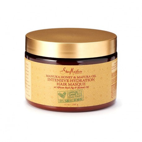 SHEA MOISTURE – MANUKA HONEY – MASQUE NOURRISSANT