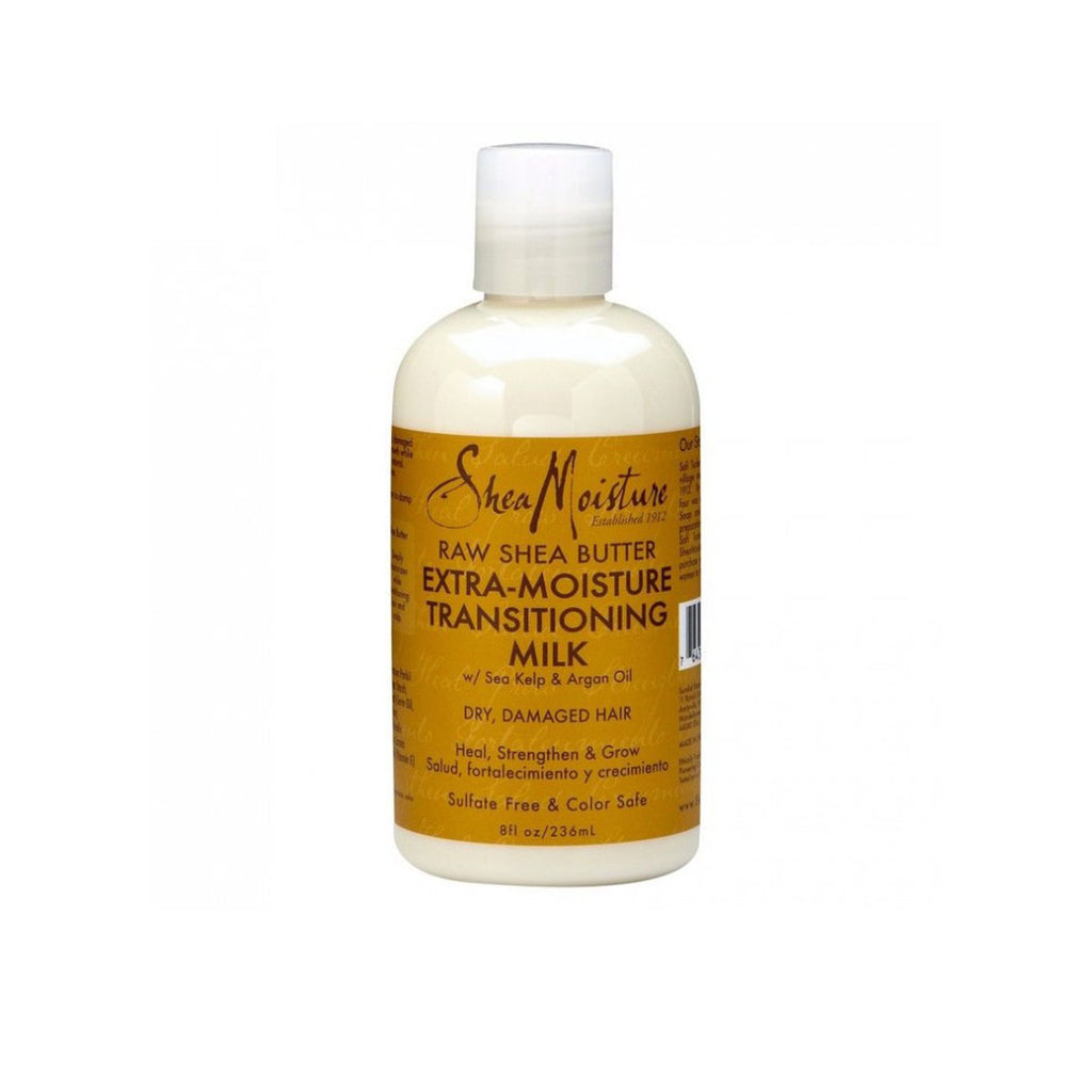 SHEA MOISTURE – RAW SHEA BUTTER – TRANSITIONING MILK