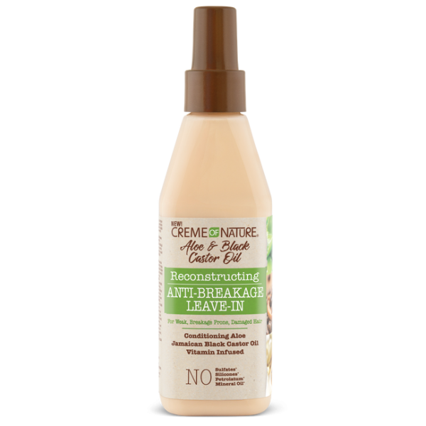 CREME OF NATURE ALOE & JAMAICAN BLACK CASTOR LEAVE IN 236ML
