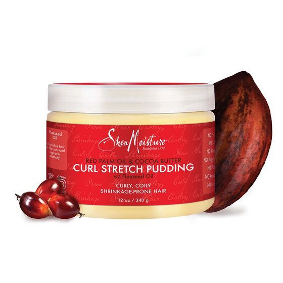 SHEA MOISTURE - RED PALM & CACAO - CURL STRETCH PUDDING 340G
