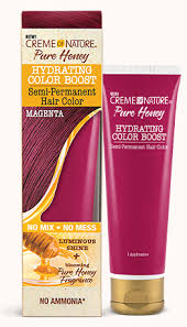 CREME OF NATURE PURE HONEY HYDRATING COLOR BOOST SEMI-PERMANENT - MAGENTA