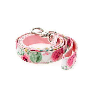 Pink Floral Cascade Fabric Lead