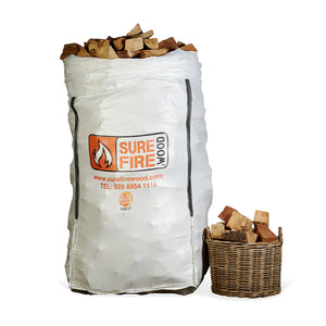 Kiln Dried Hardwood Super Jumbo Bag (from €201.25/bag - 1 or 24 Units)