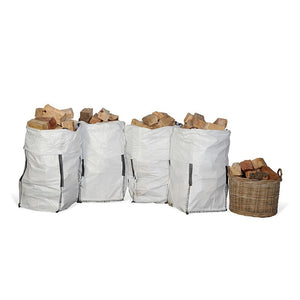 Kiln Dried Firewood Barrow Bag (from €22.13/bag - 5 or 6 Units per Pallet)