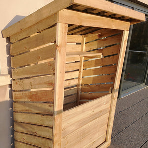 Wooden 4ft x 2ft Log Store