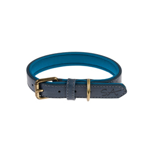 Stamped Design Collar - Teal