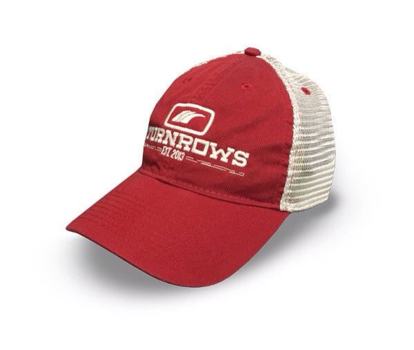 Turnrows Classic Trucker Hat - Red