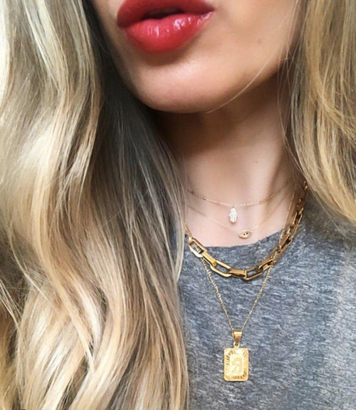 Bracha Tara Link Choker Necklace