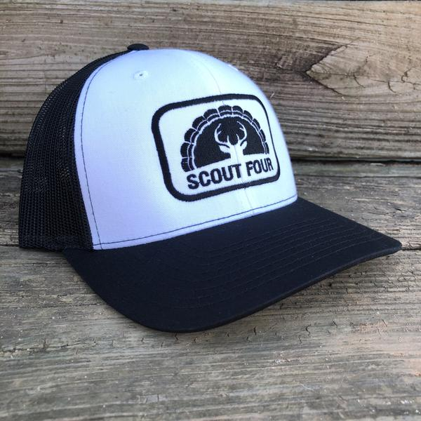Scout Four Outdoors Logan Stamp Trucker Hat
