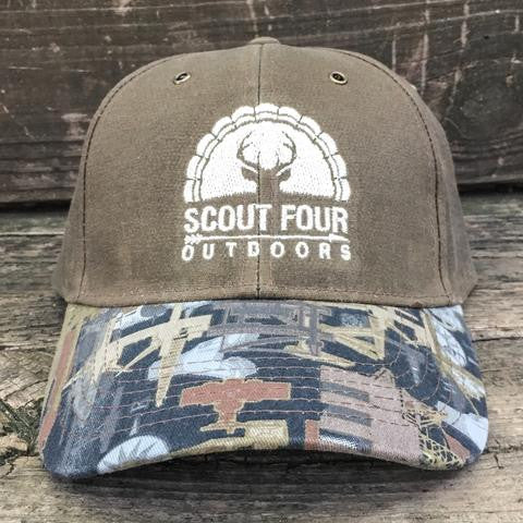 77ecf26e3b6 Scout Four Outdoors  Oil Rig  Waxed Trucker Hat – Purple Door ...