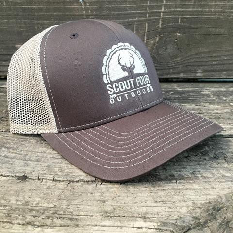 Scout Four Outdoors 'Moose' Trucker Hat