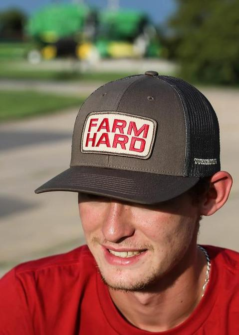 Turnrows 'Farm Hard Patch' Hat - Chocolate