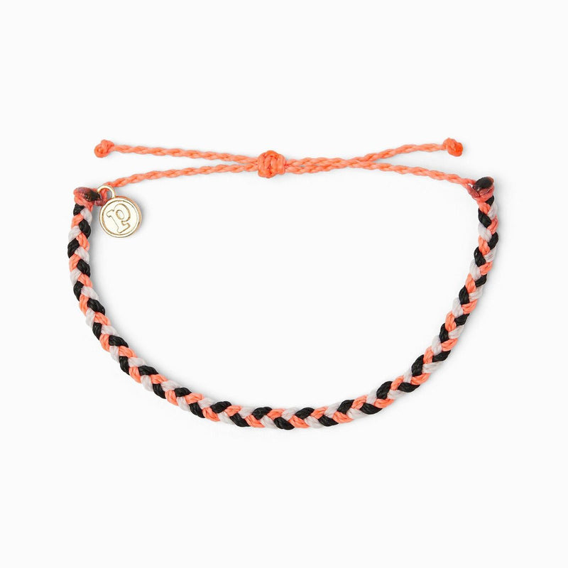 Pura Vida Mini Braided Bracelet - Electric Boho