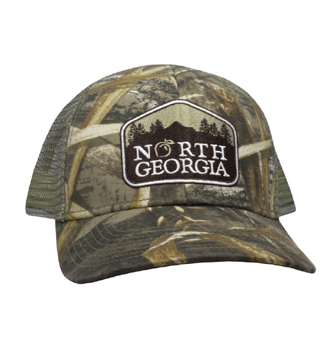 Peach State Pride 'North Georgia Patch' Mesh Back Hat - Camo
