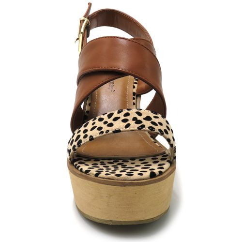 Zada Chettah Platform Wedge Sandals