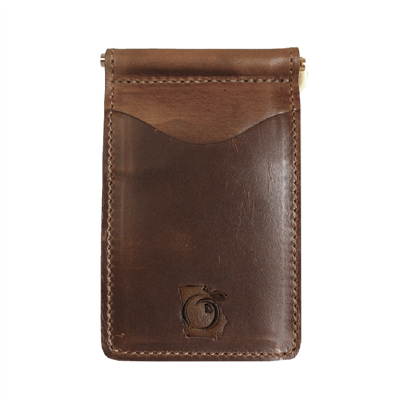 Peach State Pride Leather Wallet