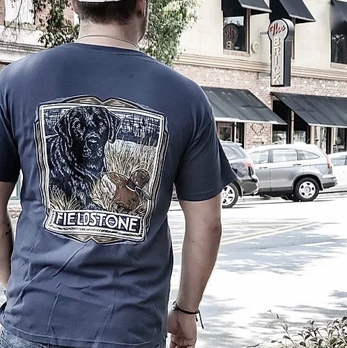 fieldstone outdoors mens retriever tshirt
