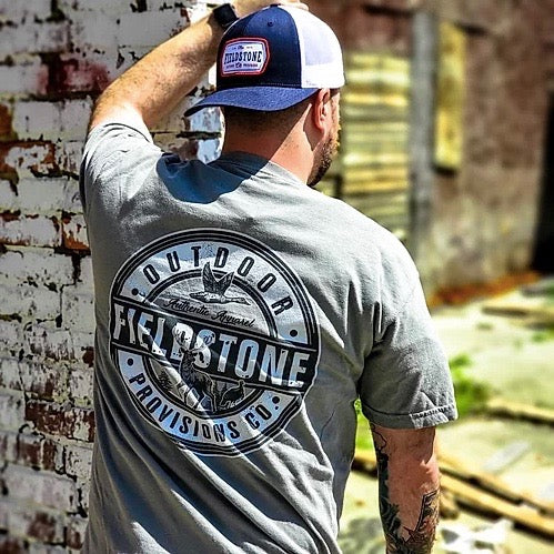 Fieldstone Outdoors Patriotic Patch Trucker Hat