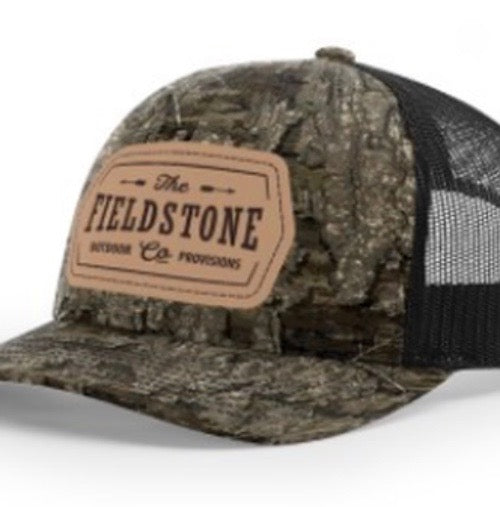 Fieldstone Outdoors Fieldstone Leather Patch Trucker Hat