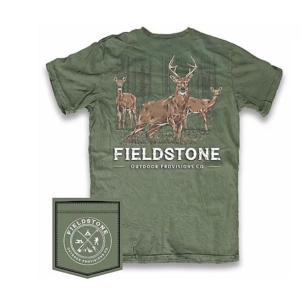 FIELDSTONE OUTDOORS DEER HERD T SHIRT