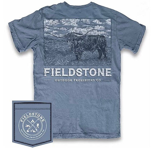Fieldstone Outdoors Long Horn Short Sleeve T-Shirt