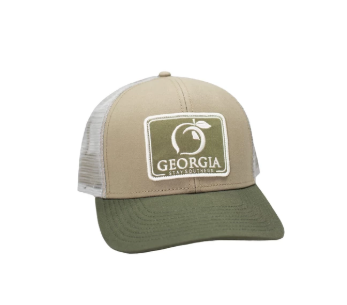 Peach State Pride 'Georgia Patch' Mesh Back Trucker Hat - Khaki/Olive