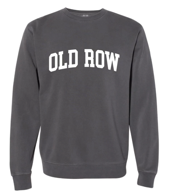 Old Row 'Old Row' Sweatshirt - Charcoal