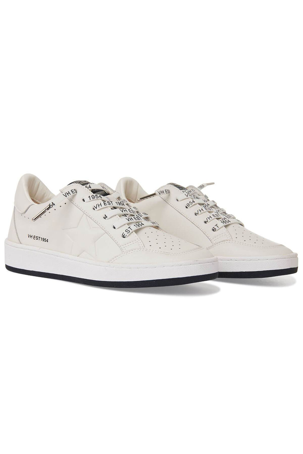 Ladies vintage Havana Serenity white sneakers