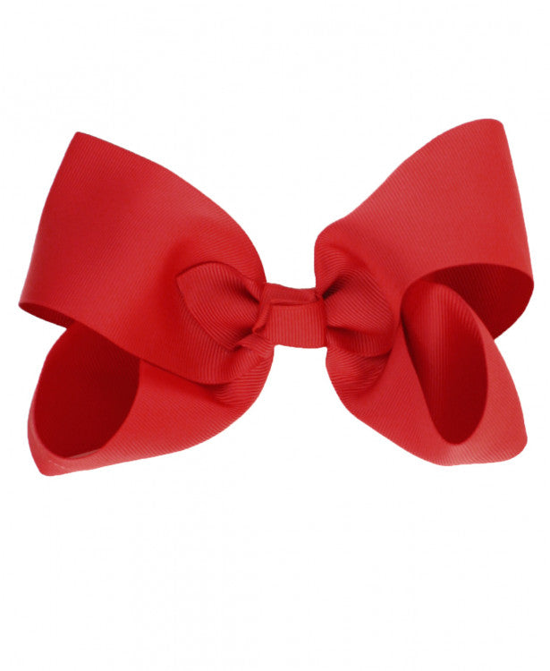 "Ruffle Butts '6"" Bow' - Red"