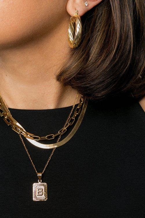 bracha monte carlo gold chain necklace