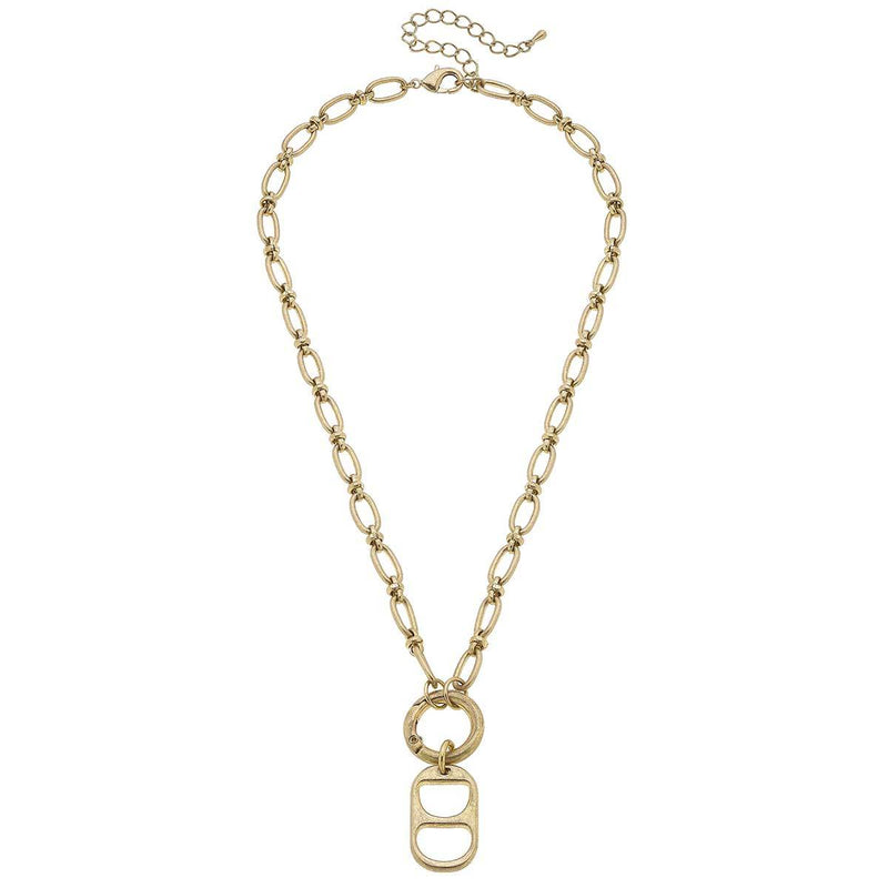 canvas tabitha soda tab necklace