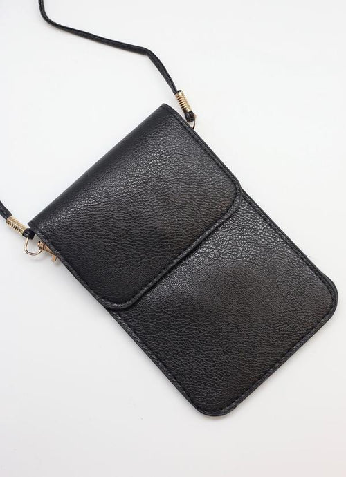 Desiree Crossbody With Touchscreen Black