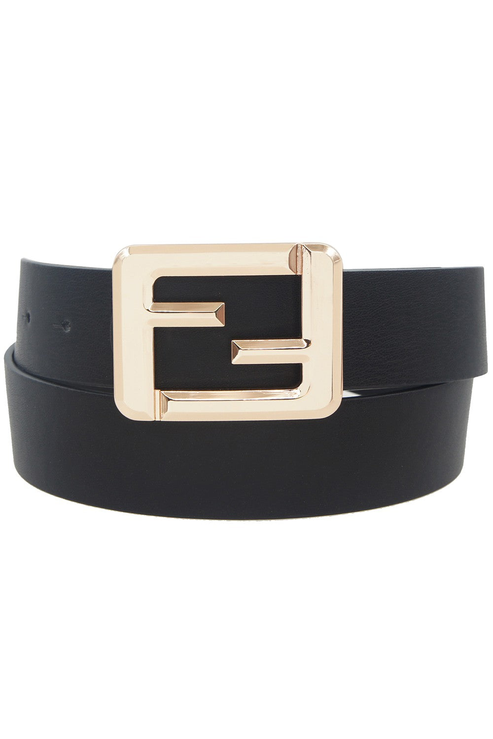 women's black fashion belt