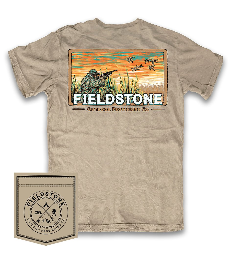 fieldstone outdoors youth duck hunter t shirt