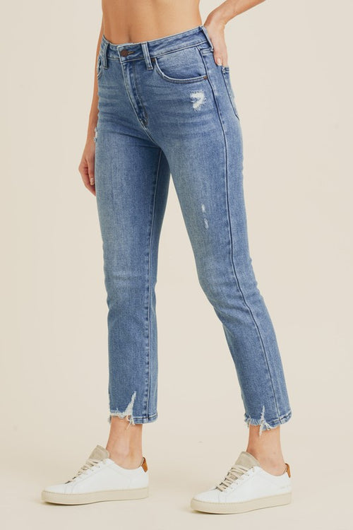 Just Black Denim Straight Leg Jeans
