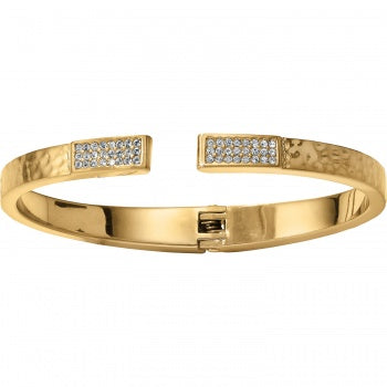 Brighton 'Meridian Zenith' Hinged Bangle - Gold