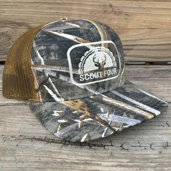 Scout Four Outdoors 'Cleveland Max 5' Trucker Hat