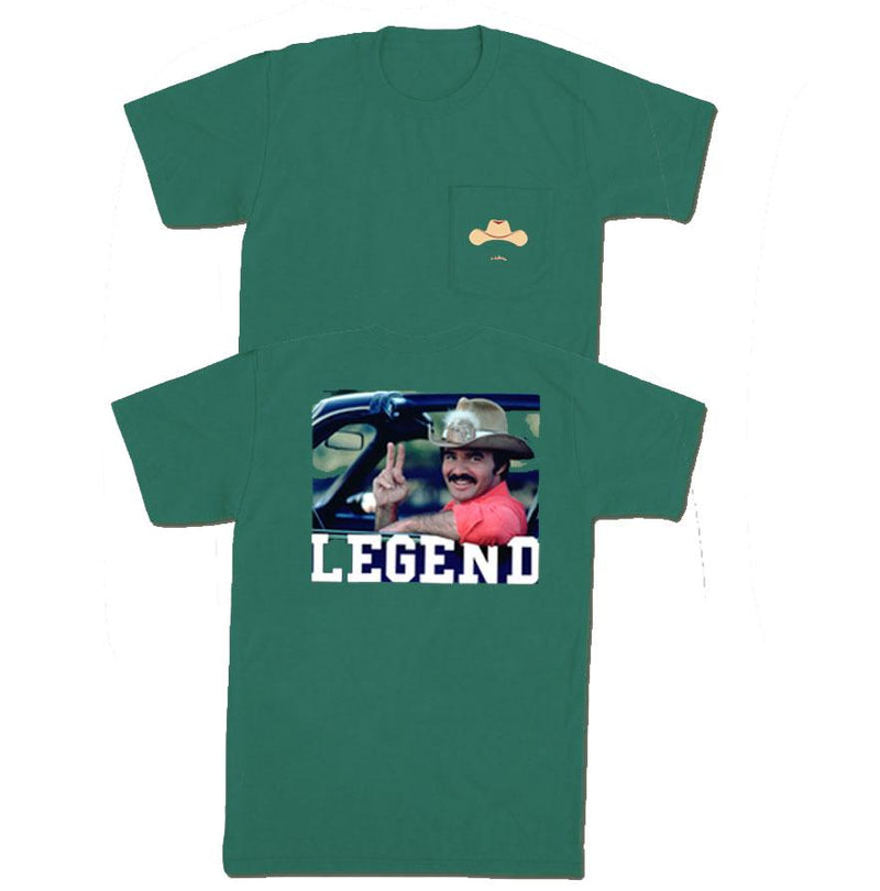 Old Row 'The Bandit' Short Sleeve - Emerald