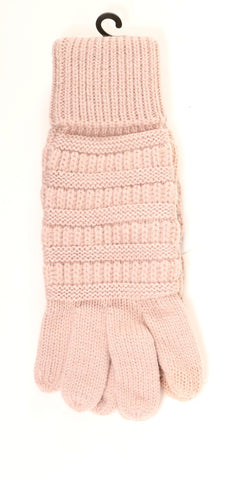 C.C 'Touch Screen Compatible Gloves' - Indi Pink