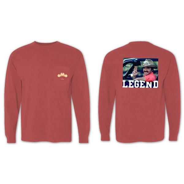 Old Row 'Bandit' Long Sleeve - Brick