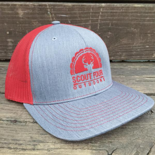 Scout Four Outdoors 'Bull' Trucker Hat