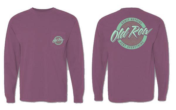 Old Row 'Rad Chicks' Long Sleeve - Berry