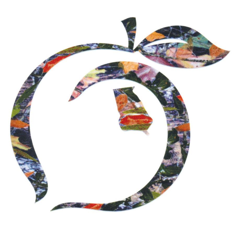 Peach State Pride 'Logo Decal' - Camo
