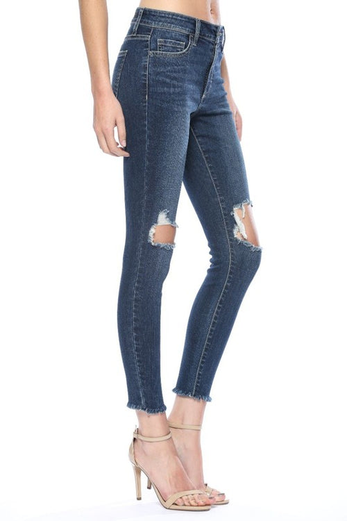 Forever & Always Dark Denim Skinny Jeans